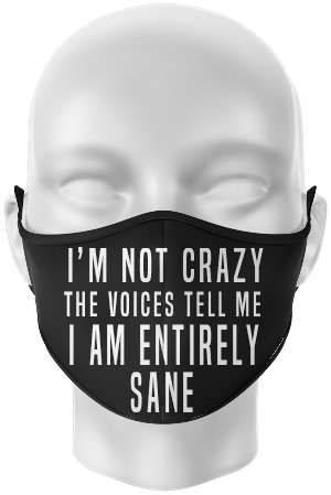 Crazy face mask