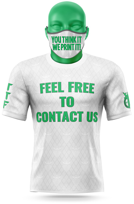 contact us t-shirt design