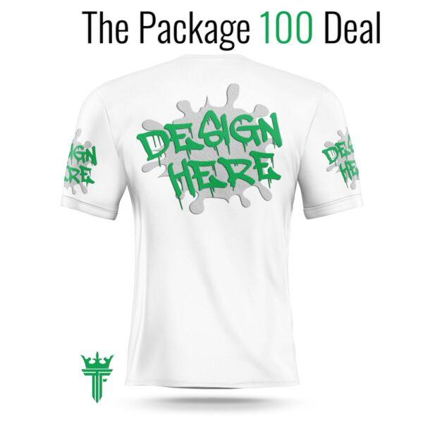 Custom cotton t-shirts deal